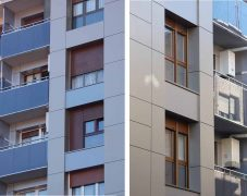 Reforma de fachada Menéndez y Pelaio 1 – Basauri